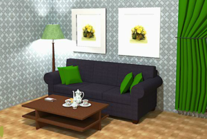 Screenshot - Online Escape Room Game Tea Room