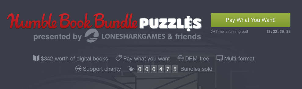 Game Books - Humble Bundle