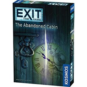 Mini Escape Games - Escape Room Game - Exit: The Abandoned Cabin Game - Thames & Kosmos