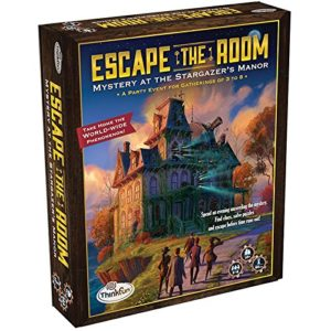 Mini Escape Games - Escape Room Game - Escape The Room Secret Of Dr Gravely'S Retreat Game - Think Fun - Escape the Room Stargazer's Manor - Think Fun