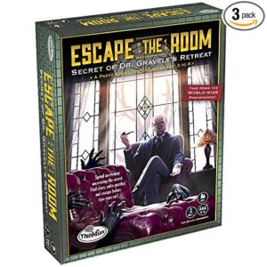 Mini Escape Games - Escape Room Game - Escape The Room Secret Of Dr Gravely'S Retreat Game - Think Fun