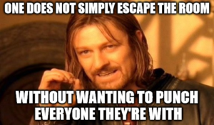 Mini Escape Games - Punch Them All Meme