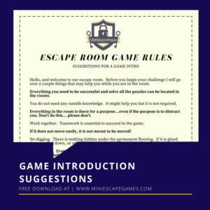 Mini Escape Games - Escape Room Game Introduction - Download